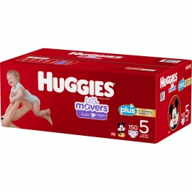 Huggies Little Movers Diapers, Size 5, 150 ct