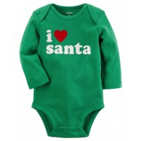 I Heart Santa Collectible Bodysuit