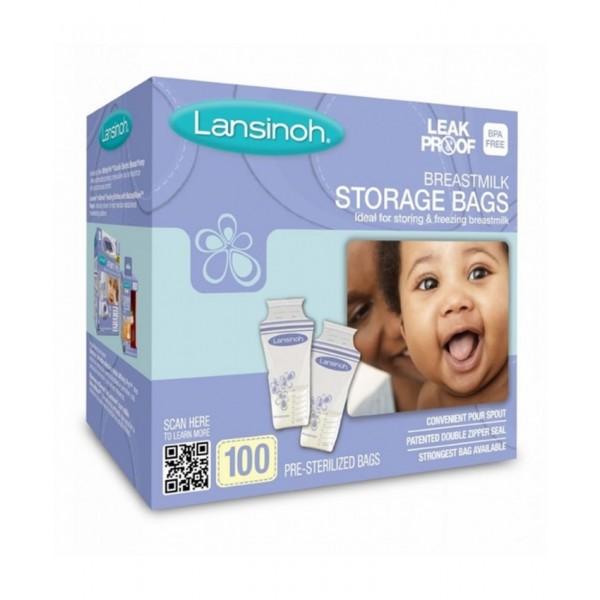 Lansinoh Milk storage bag 100ct