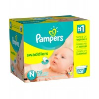 Pampers Swaddlers Diapers Giant Pack Size Newborn 128ct