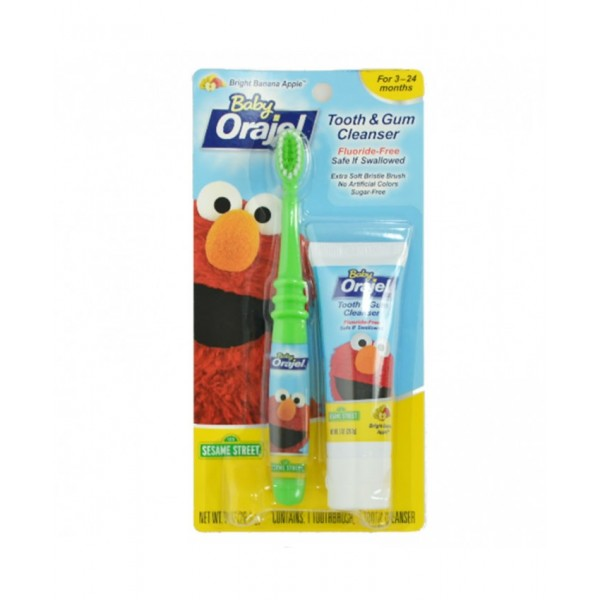 Baby Orajel Tooth and Gum Cleanser-Apple Banana