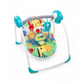 Bright Starts Portable Swing, Safari Smiles