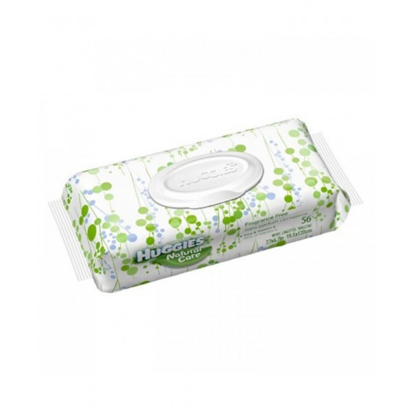 Huggies Natural Care Baby Wipes, Fragrance Free